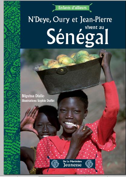 Couverture Enfants d'Ailleurs Sénégal